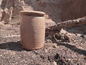 XVIwieczne znalezisko z wykopalisk przy ul.Jodłowej